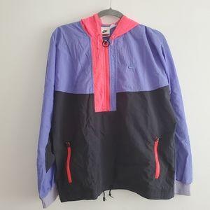 VTG Nike Cross Training Colorblock Half Zip Jacket